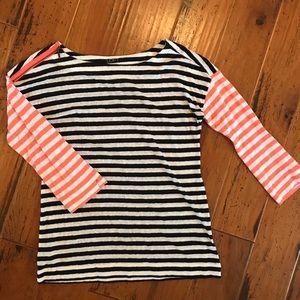 LOFT striped shirt.